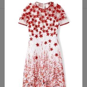 Elie Tahari Mindy Dress Size 14